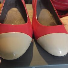 size 36 ladies shoes Flats Boston Babe  BNIB Patent Leather RRP$119.99 50% Off
