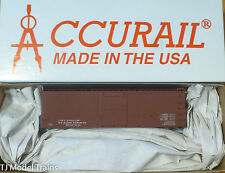 Accurail HO #1798 (Data-Min Red) 36' DBL Sheath Boxcar Wood Ends (Plastic Kit)