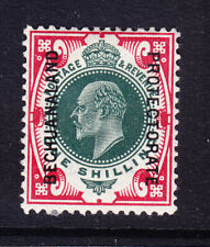 BECHUANALAND 1913 SG70 1/- of GB overprinted - mounted mint. Catalogue £55