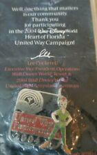 Disney Wdw Cast Member United Way Participant 2004 Peter Pan Le 50000 Pin