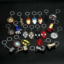 Thor Hammer Marvel DC The Avengers Loki Metal Keychain Car Key Chain Keyring