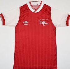1985 Arsenal Centenario Umbro Hogar Camiseta de fútbol (tamaño y)