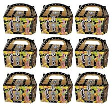 10 x PIRATE TREASURE CHEST PARTY TREAT CAKE FOOD BOXES FAVORS GOODY BAGS 395-905