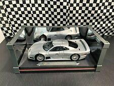 Maisto Mercedes-Benz CLK-GTR Street Version - Silver - 1:18 Diecast  Boxed