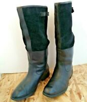 Rockport WOMEN'S TALL BOOTS, SIZE US 9 M,  BLACK, ADJUSTABLE CALF