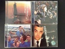 4x Robbie Williams CD's - Life Lens, Escapology, Sing When Winnng, Expecting You