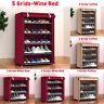 3/4/5 Tier Dustproof Shoe Rack Organiser Shoes Storage Cabinet Stand Shelf NEW