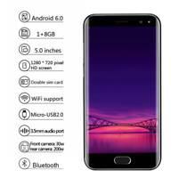 SMARTPHONE Télephone portable ANDROID 6.0 1+8Go MOBILE MTK6580 Quad Core Noir PB