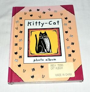 1997 Kitty Cat Photo Album There Are Not Any Ordinary Cats New Sealed