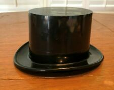 VINTAGE CELLULOID PLASTIC HINGED TOP HAT