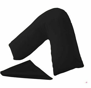 Orthopeadic-V Shaped Pillow Head Neck Back Support With Free Pillow Case