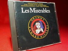 LES MISÉRABLES   Highlights from the complete Symphonic ..   Best of   CD TOPP *