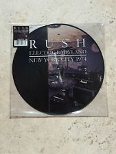 Rush – Electric Ladyland - New York City 1974 Picture Vinyl LP NEW