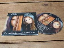 HELENE SEGARA - LAURA PAUSINI - ON N'OUBLIE JAMAIS - CARDSLEEVE  !!RARE CD!!!!!