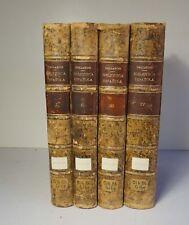 Biblioteca Espanola 4 Vols 1863-89 Gallardo Rare Books Manuscripts Spain