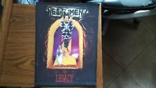 TESTAMENT,LEGACY,SEW ON SUBLIMATED LARGE BACK PATCH
