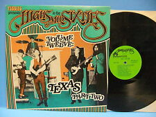 Pebbles Presents High In The Mid Sixties Vol 12 Texas Part 2 1984 V/A AIP 10021