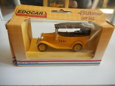 Edocar 1932 A Ford Taxi in Yellow in Box