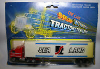 Die Cast Solid Wheels Tractor /Trailers Sealand Lorry Vintage from 1970