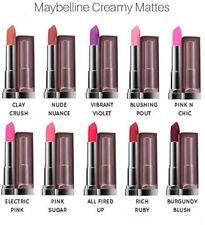 Rouges à lèvres longue tenue mat rouge stick | eBay