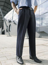 Mid Rise Regular Size Trousers for Men 26L Inside Leg