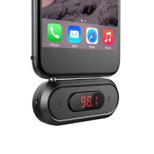 Fm Transmitter Fm Radio Aufrufen Kabellos für Iphone Android Auto Lautsprecher