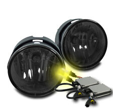 2007-2015 FORD EXPEDITION/2008-2011 RANGER BUMPER SMOKE FOG LIGHTS W/3K HID NEW