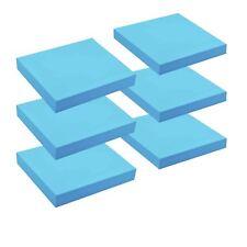 Étagère Flottante en Boi Mur 25cm x 25cm - Bleu x6
