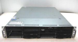 SuperMicro 825-7 2U Storage Chassis 2x Xeon Quad Core X5550 @ 2.66GHz, 73GB RAM