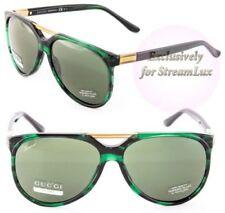 4b29e76cfbf Gucci Green Unisex Sunglasses for sale