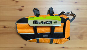 Outward Hound Orange Life Jacket Swimming Water Safety Dog Vest Size Large L