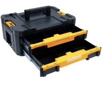 DEWALT TSTAK Tool Storage Organizer Double Drawers 2-Drawer