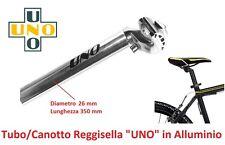 Tubo/Canotto ReggiSella UNO in Alluminio D 26 mm per bici 20-24-26 Pieghevole