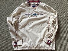 Size  L. Super Bowl XLII Reebok Windbreaker Pullover 93cd2ada3