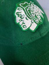 Chicago Blackhawks Irish ST Patricks Day Hat Green New Era Snapback Trucker Cap