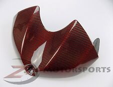 2008-2016 Yamaha R6 Gas Tank Air Box Front Cover Fairing Cowl Carbon Fiber Red