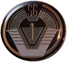 "Stargate SG-1 TV Series Group 1 Logo 1 1/4"" Wide Enamel Pin"