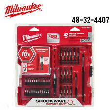 Milwaukee 48-32-4407 Shockwave Impact Driver Bit Set 42 Piece w/Full Warranty