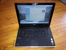 "Bad Sound/WiFi Sony VAIO PCG-8Z2L 2GHz/250GB/4GB/17"" LCD Screen/Windows Laptop a"