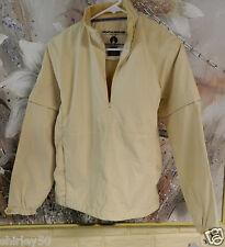Nwt Weatherproof Golf Jacket Sz Small Lt. Yellow 1/2 Zip Front Zip Off Sleeves