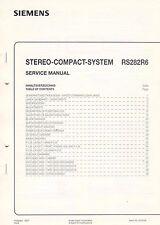 SIEMENS RS282R6 - Service Manual Anleitung B1919