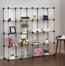 Shoe storage shelving books,shoes,clothes plastic storage 16-Cube without doors