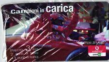 1745 SCHEDA RICARICA NUOVA IN BLISTER VODAFONE CAMPIONI IN CARICA FAC-SIMILE