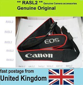 Genuine Original Canon Shoulder Strap EOS 800D 77D 100D 200D 4000D D2000 D2500
