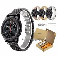 Crystal Diamond Stainless Steel Watch Band For Samsung Gear S3 Classic Frontier