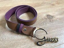 Usado - Cinturón GUESS - Marrón para Mujer - Women Brown Belt - Size S 85