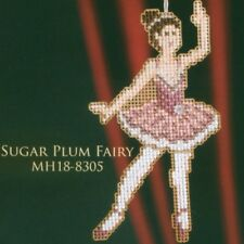 Sugar Plum Fairy Ornament Kit Mill Hill 2008 Winter Holiday Nutcracker