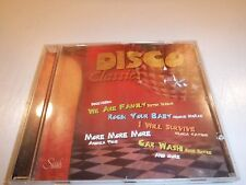 DISCO CLASSICS  CD, Sister Sledge, Gloria Gaynor, Donna Summer - Free Shipping