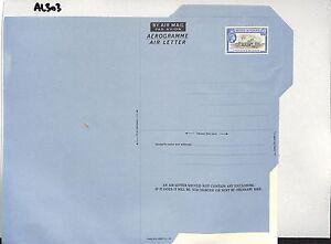 AL303 BRTISH HONDURAS Unusued Postal Stationery Air letter 10c QEII