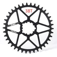 PASS QUEST GXP Round Bike Chain Wheel Crankset MTB Chainring 0mm Offset 30-44T
